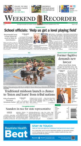 The Recorder - News - The Recorder newspaper, in Greenfield, MA